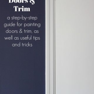 How to Paint Trim and Doors | Painting 101
