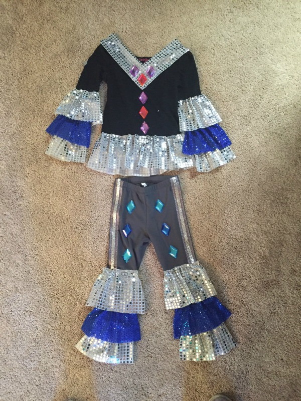 Super Trouper Dancing Queen Outfit