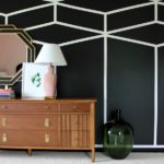 Seven Wall Treatments That Aren't Shiplap: Black and White Accent Wall   Feature Wall