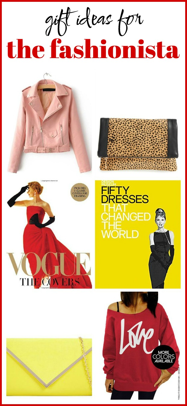 Gift Ideas for The Fashionista: Great list of gift ideas for the girls who love fashion!