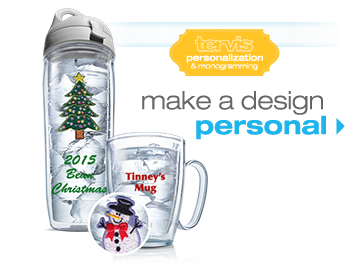 Gift Ideas for the Person Who Has It All - Customized Tervis Tumblers - great with grandkid's pictures on it for grandparents!