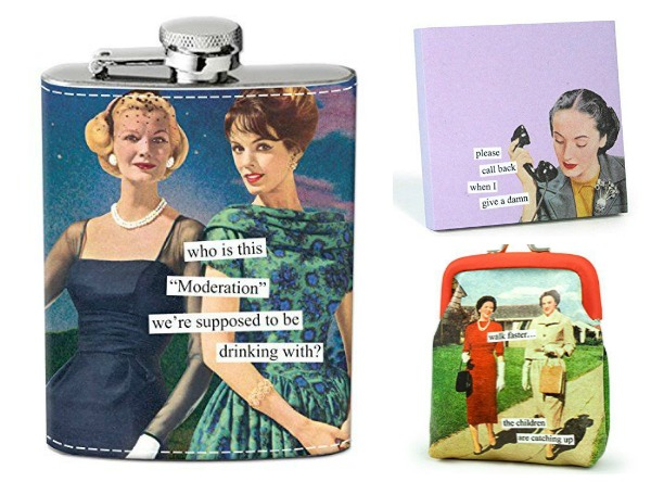 Gift Ideas for Your Blunt Friend: Anything Anne Taintor.