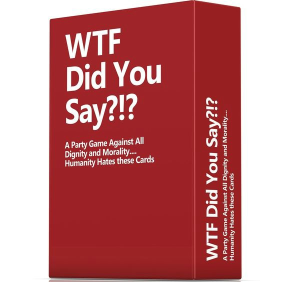 Gift Ideas for Your Blunt Friend: WTF Did you Say Game