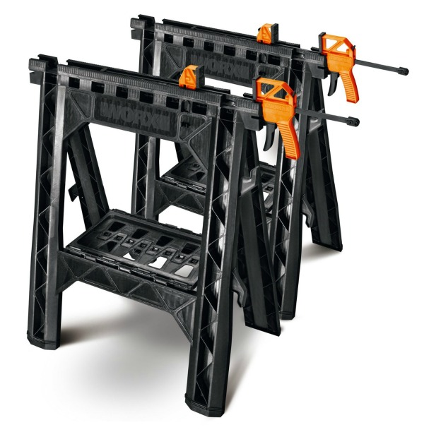 Affordable and Great Gift Ideas for Men: Good sawhorses.