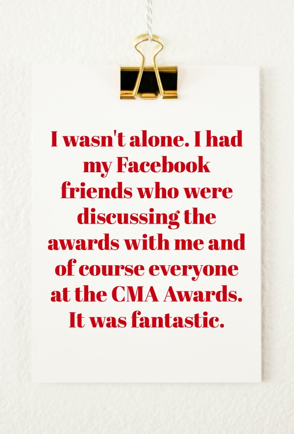 CMA Awards Emotional Roller Coaster