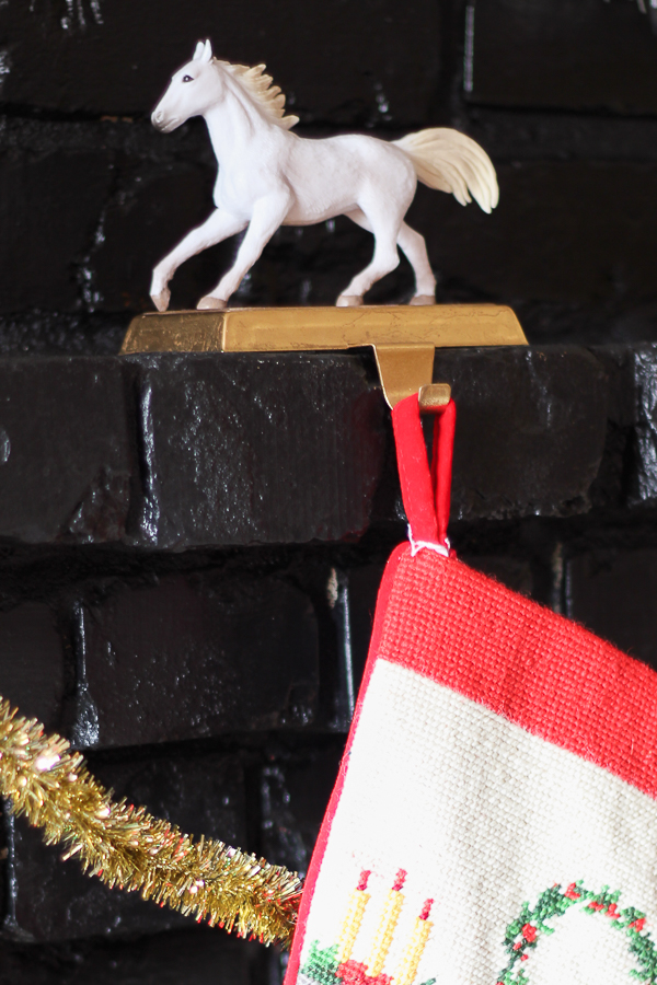 DIY Christmas Stocking Holders