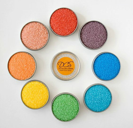 Gift Ideas for People Who Love to Drink - Colored Margarita Salt