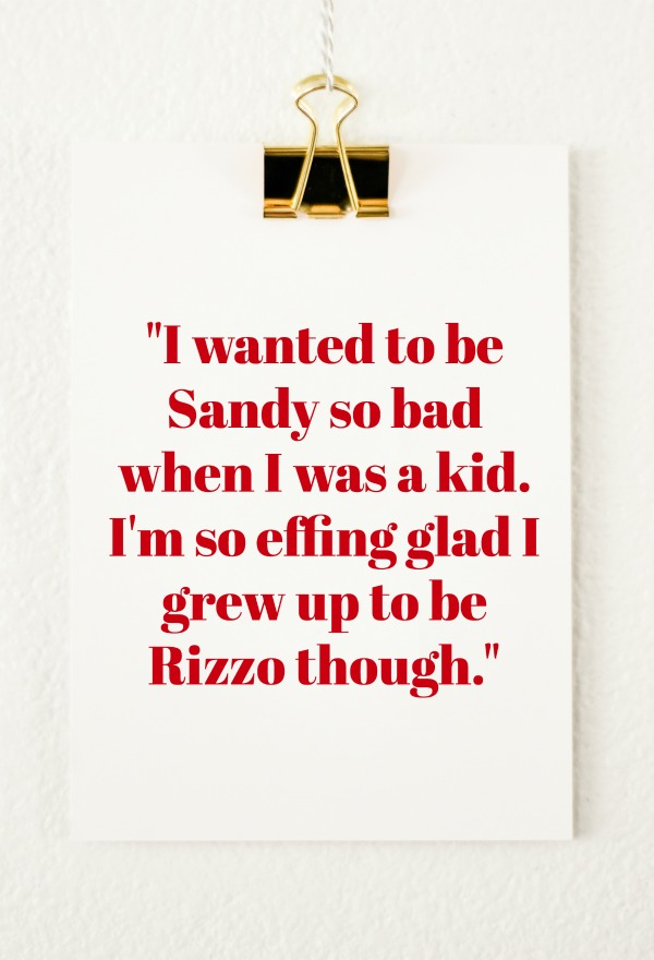 Quotes from Last Night: Be Rizzo.
