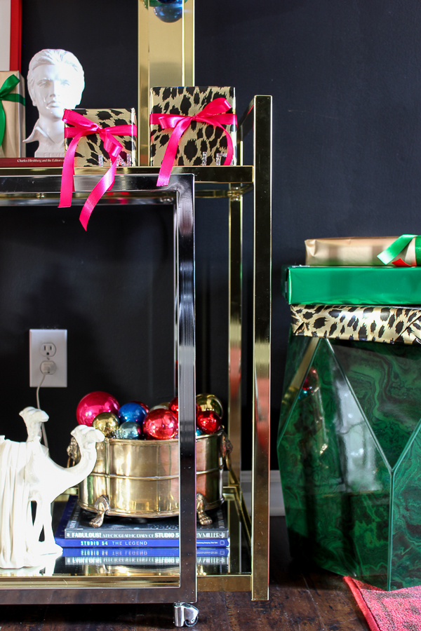 A Colorful Christmas Home Tour: Christmas Decorating in the Dining Room