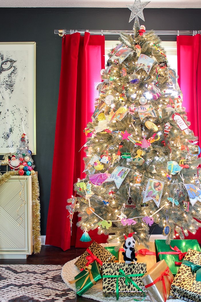 A Colorful Christmas Home Tour Part 2