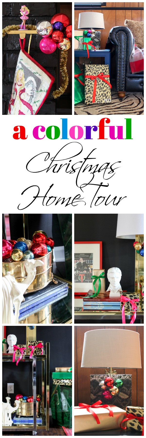 A Colorful Christmas Home Tour