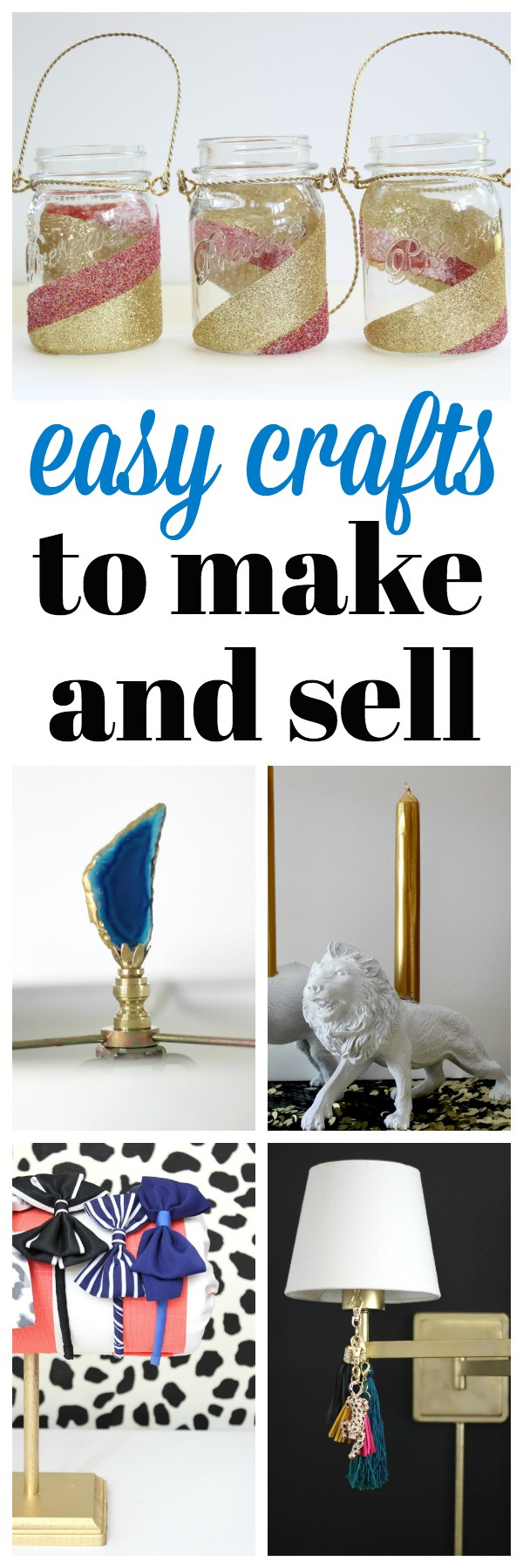 Easy Crafts To Do At Home And Sell