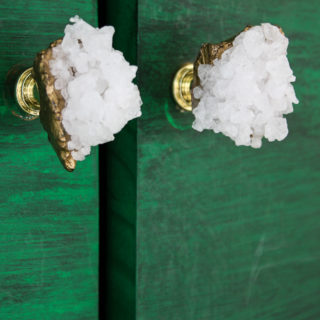 DIY Faux Crystal Knobs