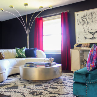 How to Rock Black Walls