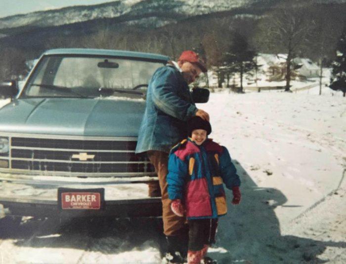 A 1989 Chevrolet Cheyenne Pickup Truck