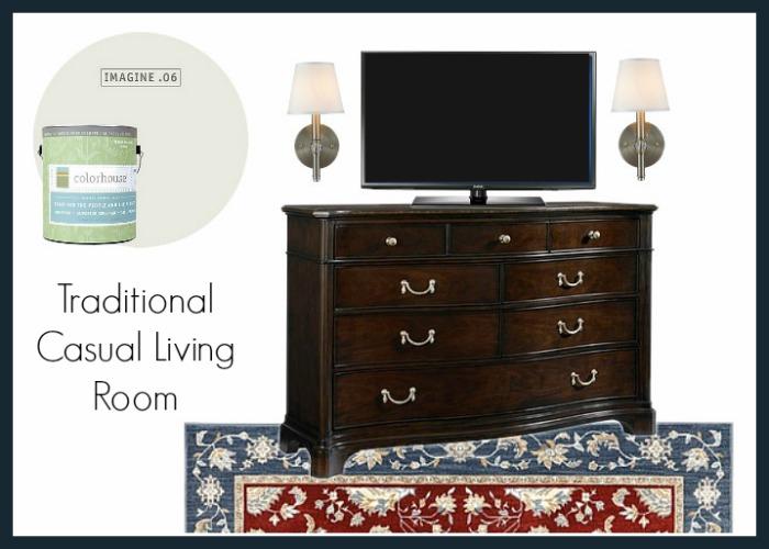 The Farm: Living Room Design Plan