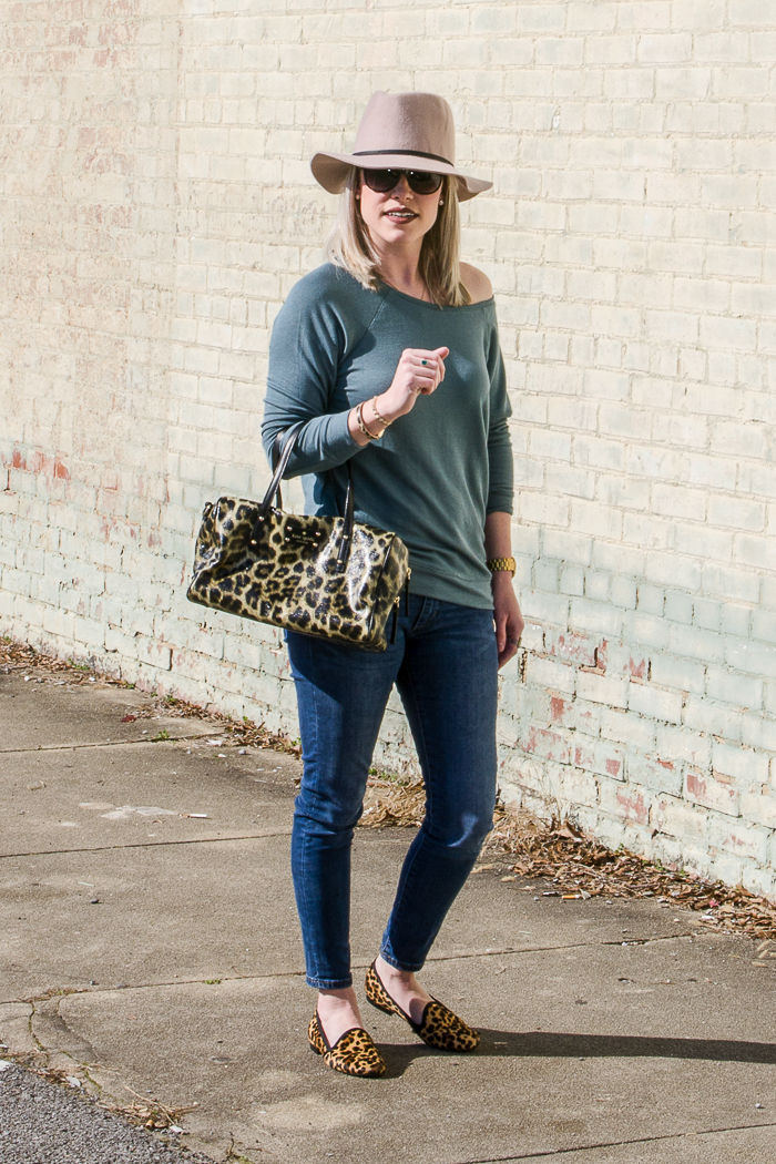 Must Have Shoes for Women: Leopard Flats. They work great with ANY casual outfit.
