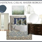 Traditional Casual Master Bedroom Design - a timeless design that also includes color and personality.