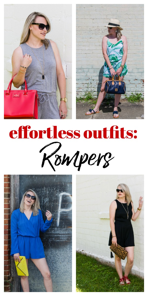 Effortless Outfit Ideas: Rompers - ideas for casual and dressy romper outfits, great for summer!
