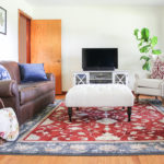 Traditional Casual Living Room - living room decor ideas for a traditional, but casual and comfortable room.