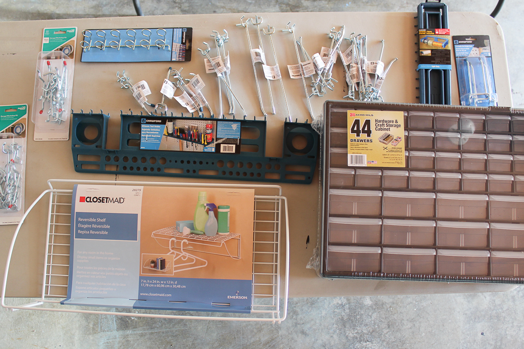 Create a one-stop workshop in your garage with this DIY Mobile Workbench and Pegboard Organization Ideas.