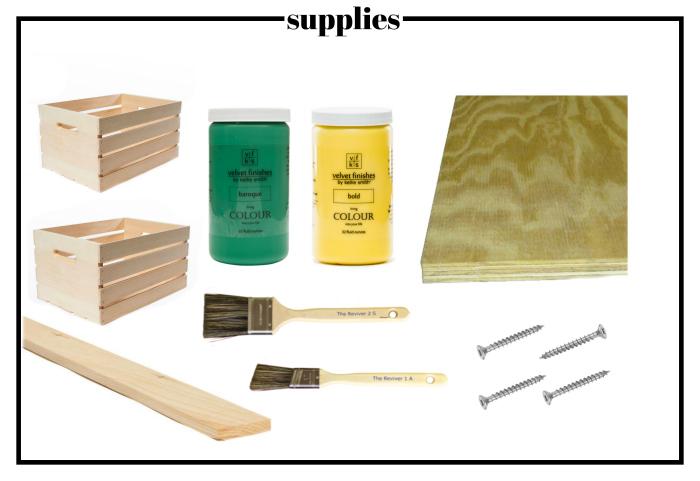 how to make a lemonade stand - supplies - Rain on a Tin Roof
