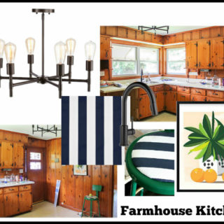 Making the Knotty Pine Look Good: The Farmhouse Kitchen Plans