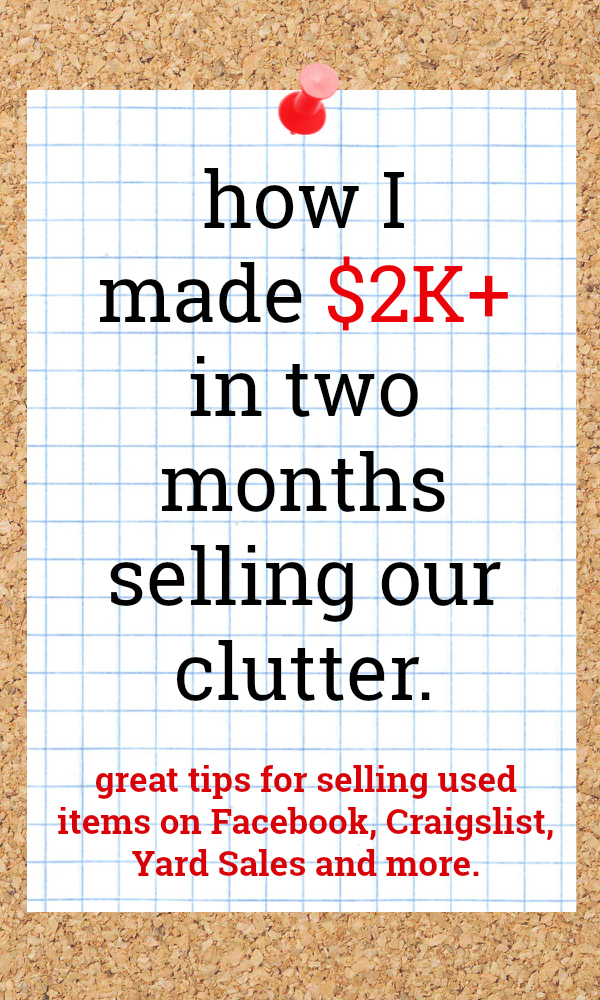 How to Sell Your Stuff Online | How to Sell Your Clutter on Facebook, Craigslist, Yard Sales and More | Ways to Make Extra Money