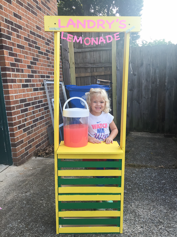 Summer Fun Lemonade Stand