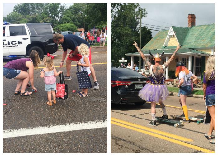 Summer Fun at the Parade