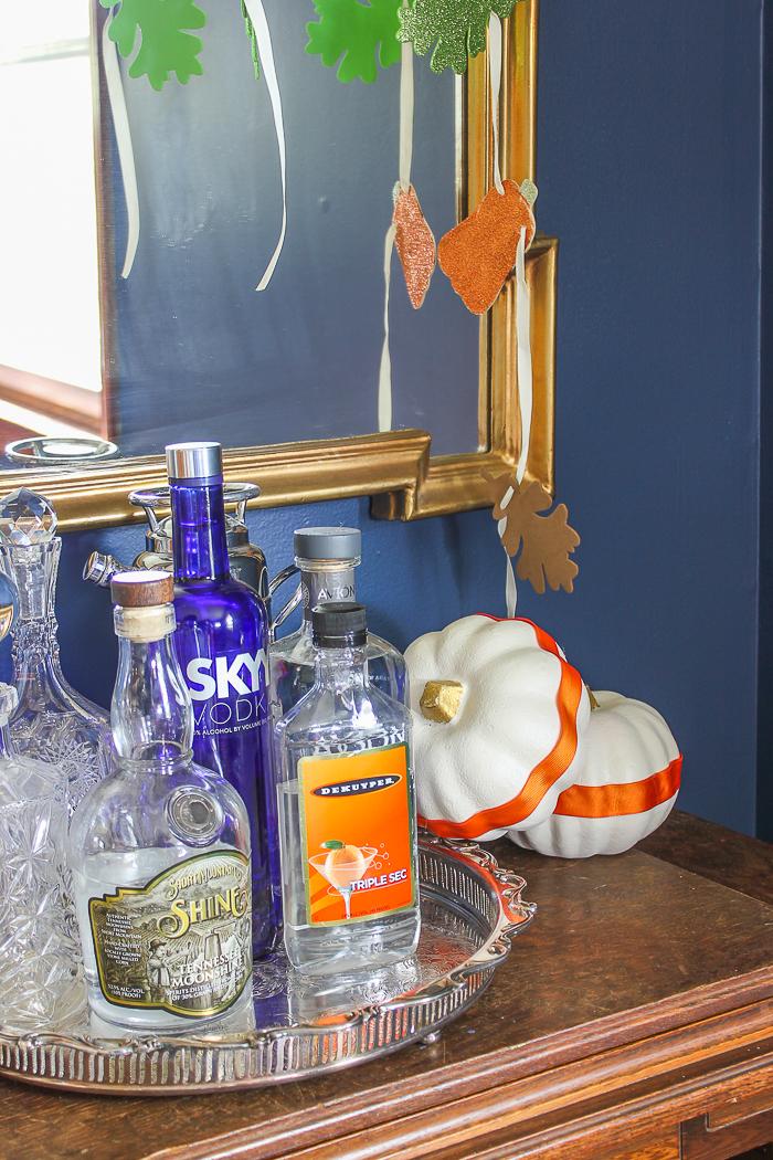Simple Fall Decor Ideas for the Home - no carve pumpkin decorating ideas.