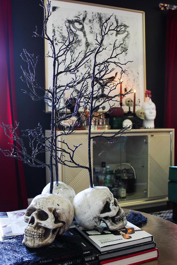 Halloween Home Tour with Easy DIY Halloween Decorations