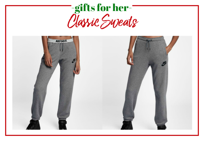 Gifts for Her - classic Nike sweats.