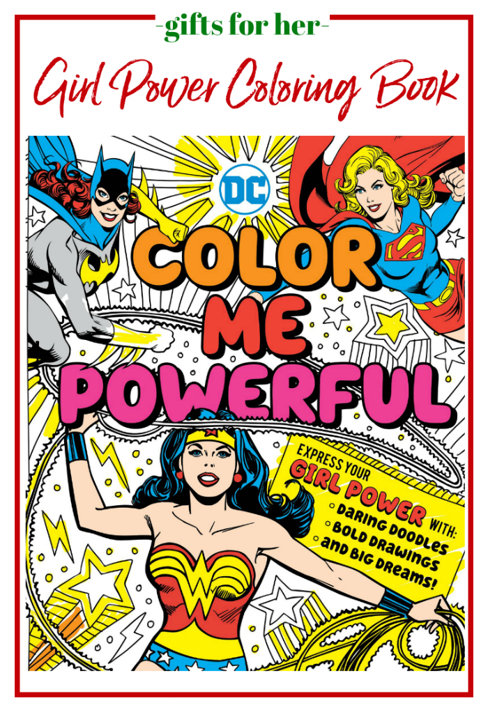 Gifts for Her - Girl Power Coloring Book
