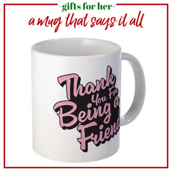 Gifts for Her - a mug that says it all and gives a nod to the Golden Girls.