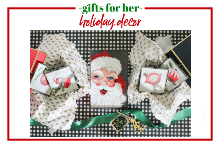Gifts for Her - holiday decor