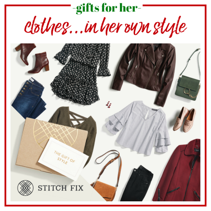 Gifts for Her - a gift card to go shopping without ever leaving the couch.