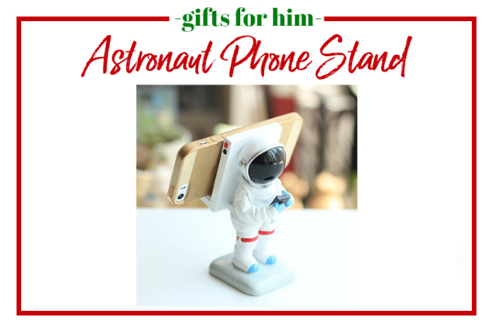Gifts for Him - astronaut phone stand.