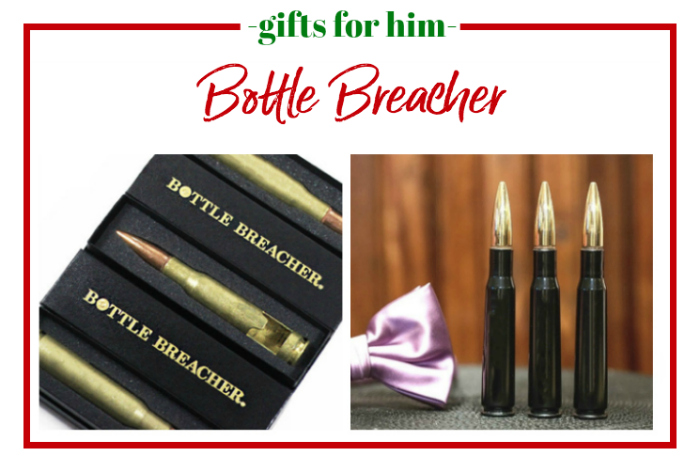 Gifts for Him - Bottle Breacher - a bullet turned into a bottle opener.