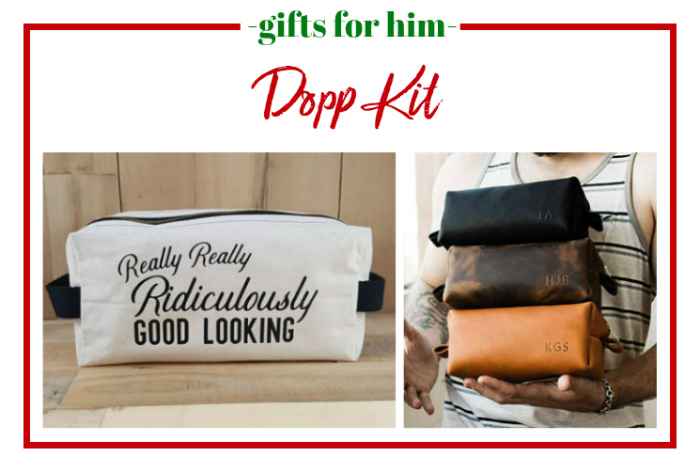 Gifts for Him - Dopp kit.