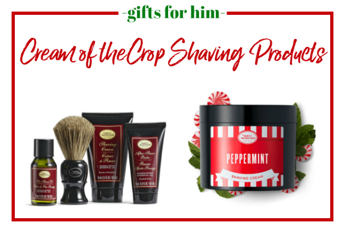 Gifts for Him - great shaving products.