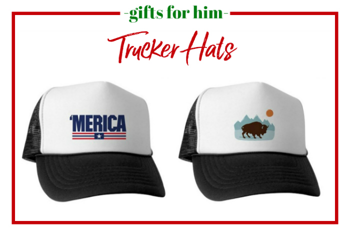 Gifts for Him - trucker hats.