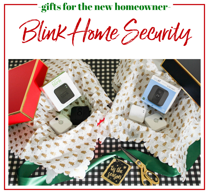 Gifts for New Homeowners - Blink Home Security, also a great gift idea for renters!
