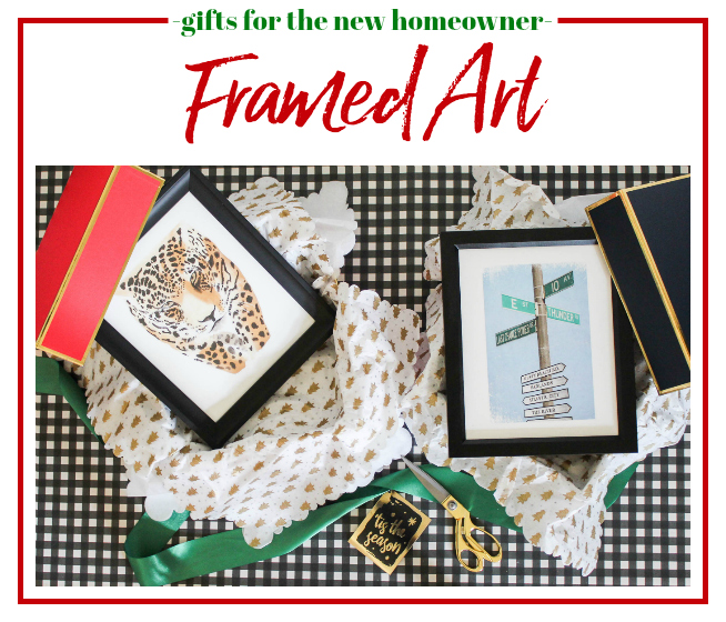 Gifts for New Homeowners - Framed Art