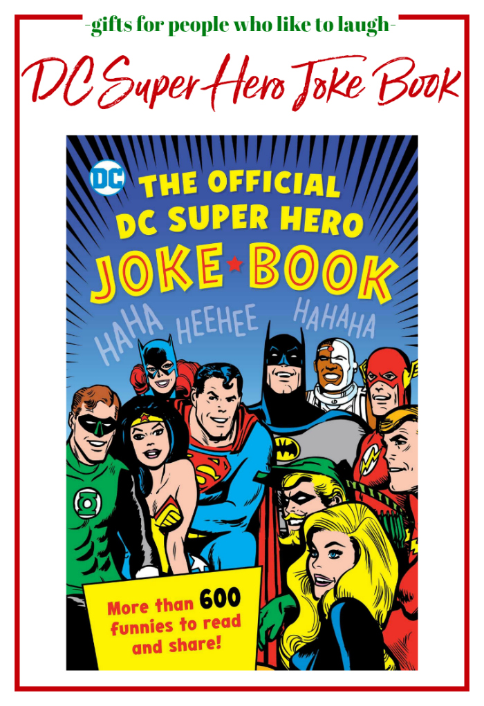 Gifts for People Who Like to Laugh - DC Super Hero Official Joke Book