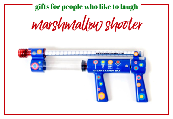 Gifts for People Who Like to Laugh - Marshmallow Shooter