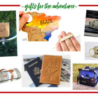 Gift Ideas for the Adventurer - great list of holiday gift ideas for him and her who like to travel and live for adventures!
