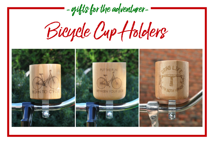 Gift Ideas for the Adventurer - bicycle cup holders