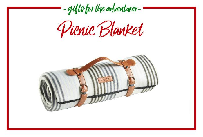 Gift Ideas for the Adventurer - picnic blanket