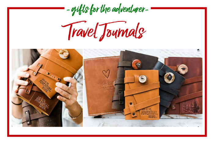 Gift Ideas for the Adventurer - travel journals
